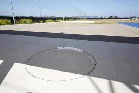投てき練習場イメージ
